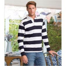 FR110 Front Row Striped Rugby Shirt